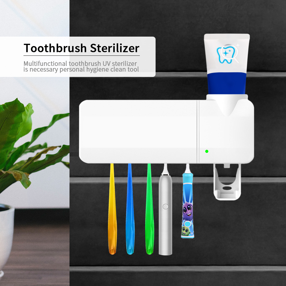 Toothbrush Sanitizer Dental Sterilizer Box Oral Teethbrush Cleaner Box Dental Care For Health Teeth Sterylizator Tools 1Box image