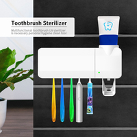 Smart Induction Anti Bacteria UV Light Disinfectant Toothbrush Sterilizer Oral Cleaner Box Holder Dental Care