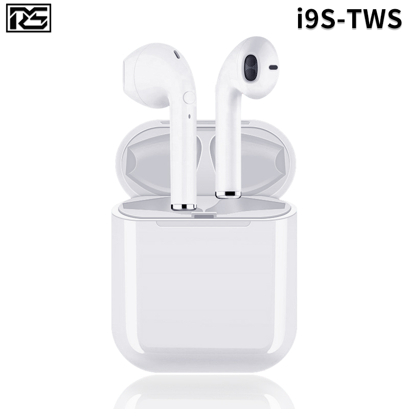 Mini <font><b>i9s</b></font> Tws Headphone Wireless <font><b>Bluetooth</b></font> <font><b>5.0</b></font> <font><b>Earphone</b></font> Earbuds With Charging Box Sport Headset For Smart Phone ios Android image