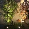 T-SUNRISE Solar Powered Spotlight 2 Warm White Lights Solar Panel Outdoor Lighting Landscape Yard Garden Tree Separately Lamp discount