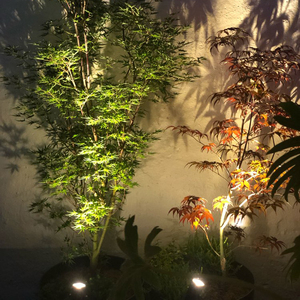 Image 3 - T SUNRISE Solar Powered Spotlight 2 Warm White Lights Solar Panel Outdoor Lighting Landscape Yard Garden Tree Separately Lamp