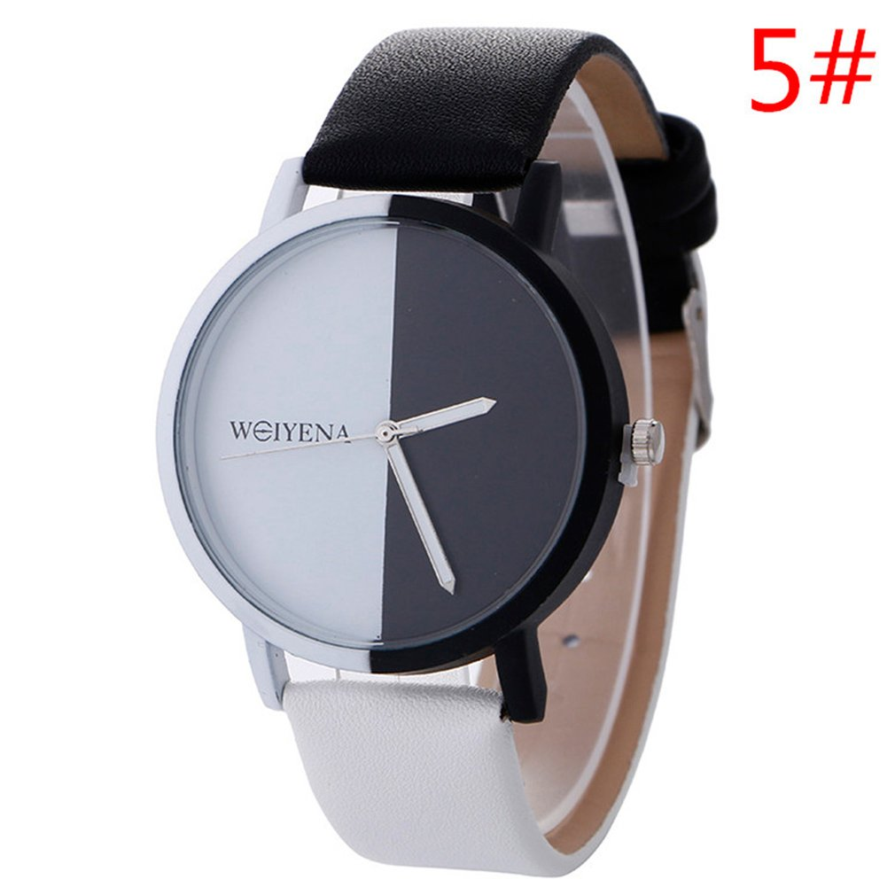 Explosion Bracelet Watch Korean Version Of The Personality Black And White Ladies Watch Belt Fashion Watch HOT SALE