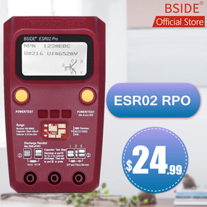 Image 1 - BSIDE ESR02PRO Digital Transistor SMD Components Tester Diode Triode Capacitance Inductance Multimeter Meter