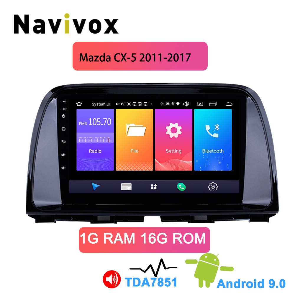 Navivox for <font><b>Mazda</b></font> <font><b>CX5</b></font> CX-5 CX 5 2011-2017 Car Radio Multimedia Video Player <font><b>Navigation</b></font> GPS Android 9.0 2din stereo no DVD image