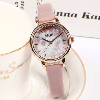 Top Luxury Women's Watches Fashion Small Retro Ladies Diamond Watch Leather Watches For Women Dress Wristwatch Exquisite Clock dress watches 8 z110 15dz110 page 3