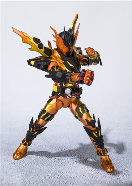 16cm Kamen Rider Cross z Magma Action Figures Super Movable Joints Masked Rider Collectible Model Toys Kids Gift Pvc FigurinesAction & Toy Figures   -