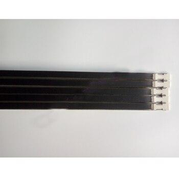 Barra de retención de barra de esponja de 5 uds para máquina de tejer Brother 9mm KH260 B14 piezas de accesorios