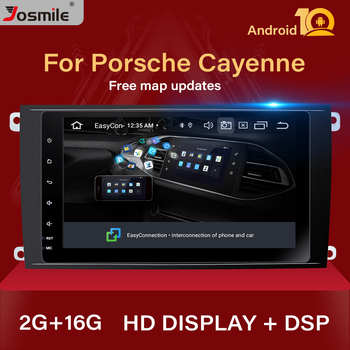 2 Din Android 10 Car Radio Multimedia Player For Porsche Cayenne GTS 2003-2010 GPS Navigation cd Audio DVD stereo Head unit955m