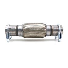 1 piece general 45*150*250mm exhaust hose elbow welded stainless steel tail double braided bellows 1.75 610