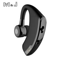 M & J V9 แฮนด์ฟรีBluetoothหูฟังพร้อมไมโครโฟนชุดหูฟังไร้สายBluetoothสำหรับการตัดเสียงรบกวนจากไดรฟ์