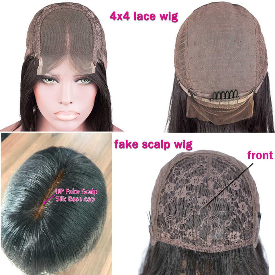 Pelucas de pelo brasileño Lanqi, peluca con malla frontal recta, pelucas de cabello humano con encaje frontal 13x4 para mujeres negras, pelucas de cabello humano baratas no remy