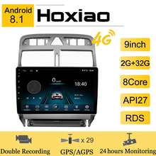 Android 8 1 for Peugeot 307 307CC 307SW 2002-2013 2Din Car DVD Multimedia Radio Player GPS Navigation WiFi Bluetooth 9 #8221 Player cheap HoXiao CN(Origin) Double Din 4*45W JPEG ABS+Aluminum alloy 1024*600 1 9kg Built-in GPS Mobile Phone MP3 Players Radio Tuner