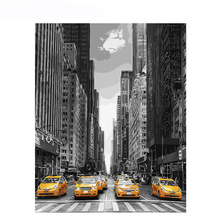 City Street Wall Art Pictures DIY Painting By Numbers For Adult Drawing Canvas Coloring By Number Home Decor Artwork Unique Gift arm injection intradermal injection arm arm intradermal injection model intradermal injection training sleeve gasen nsm0023