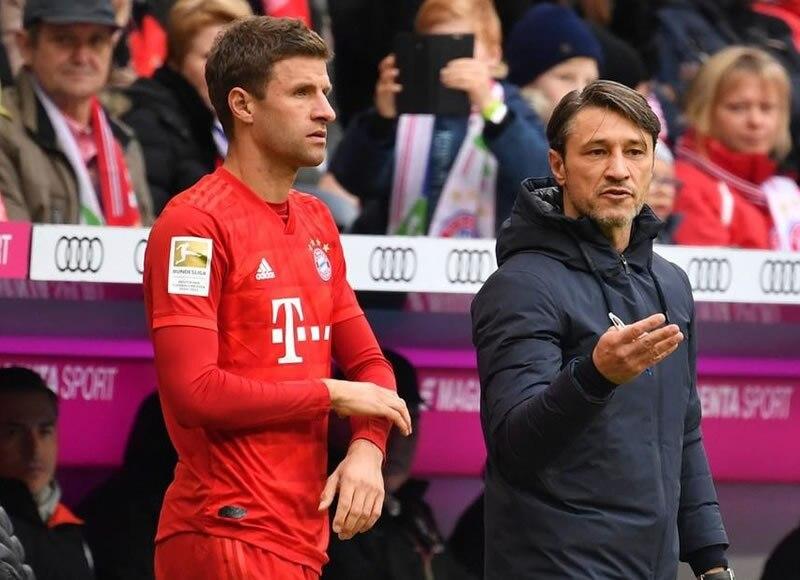 德甲第7轮 拜仁1:2霍芬海姆 主场落败跌出榜首6