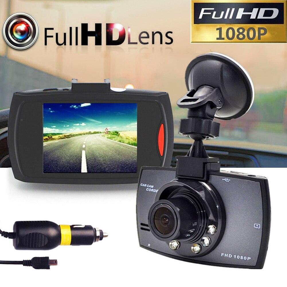 1080P Full HD зеркальная камера Видеорегистраторы для автомобилей Камера тире видео Регистраторы 2,4