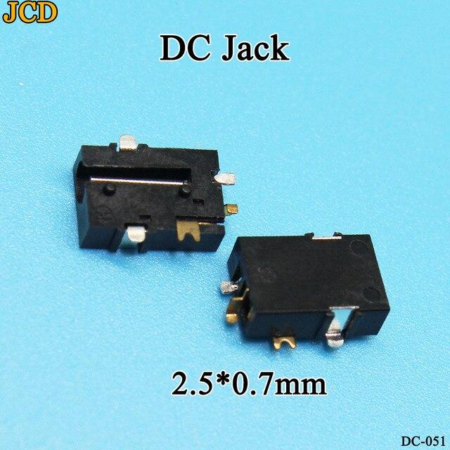 Decyzja wspólnego komitetu eog 10 sztuk DC moc ładowania złącze jack gniazdo przejściówka adapter 2.5*0.7mm dostaw Tablet Notebook interfejs złącze do montażu na panelu