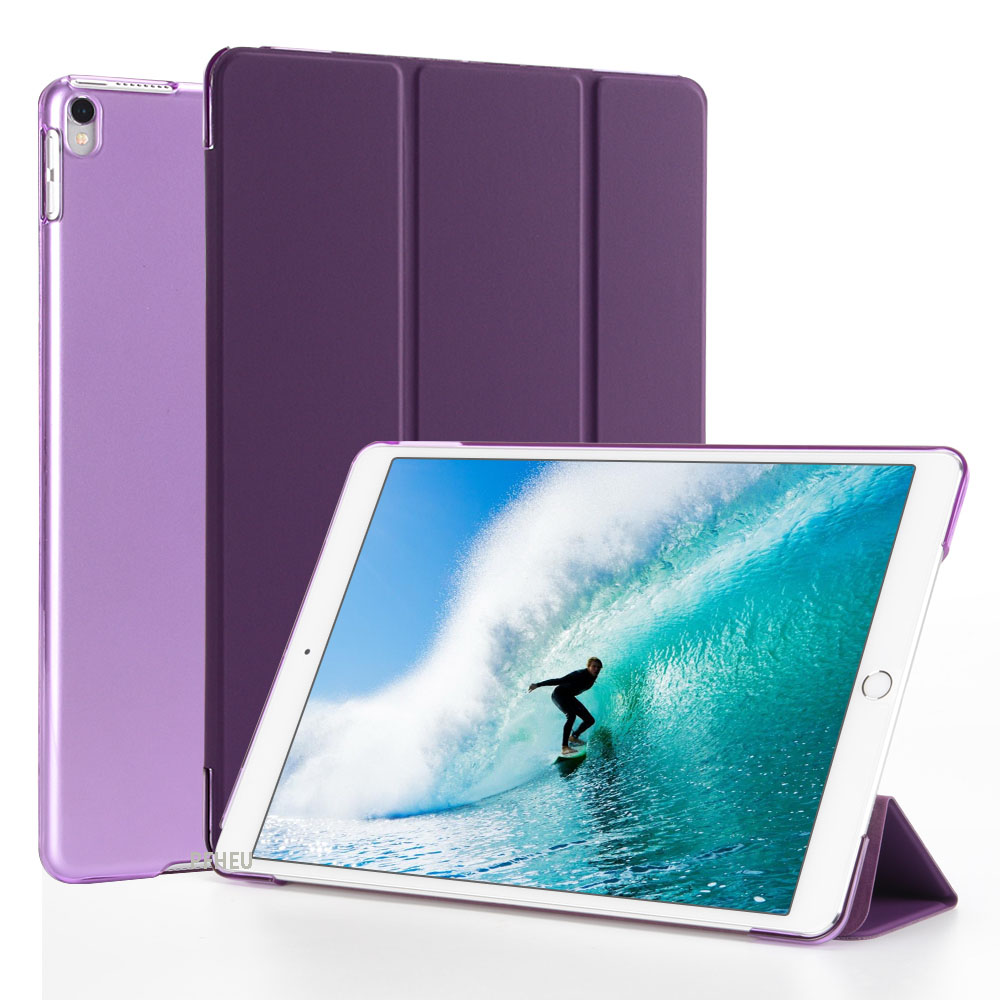 NEW Case For Ipad Air 1 / 9.7 Inch NEW 2017 2018 Model A1822 A1823 A1893 A1954 Color PU Ultra Slim Magnet Wake Smart Cover Case