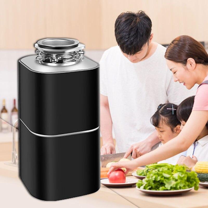 220V Smart küche abfall behandlung brecher schälen gemüse rückstände prozessor home küche müll prozessor
