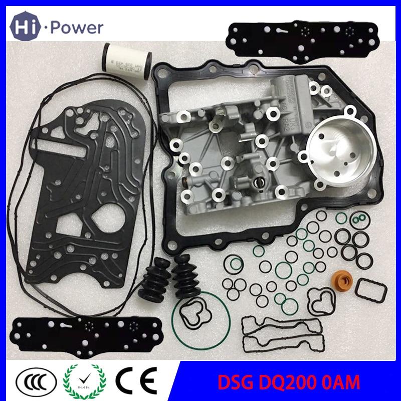 dq200 0am dsg 0am325066ac acumular habitacao caixa de engrenagens revisao junta filtro anel de borracha a