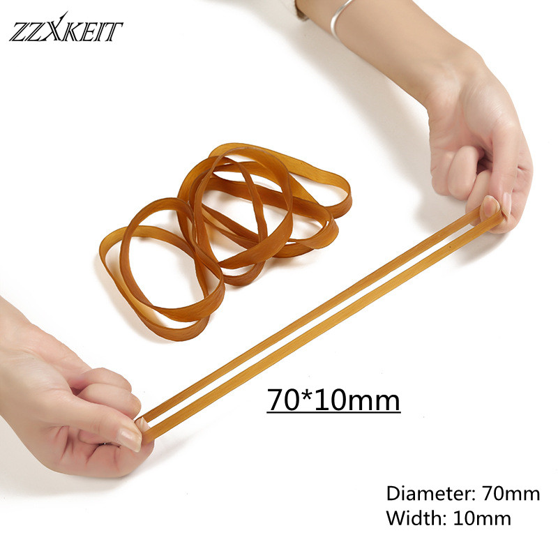 127*10mm High Elastic Round Elastic Band Rubber Band Elastic Cord for School Factory Package Supplies Accessories