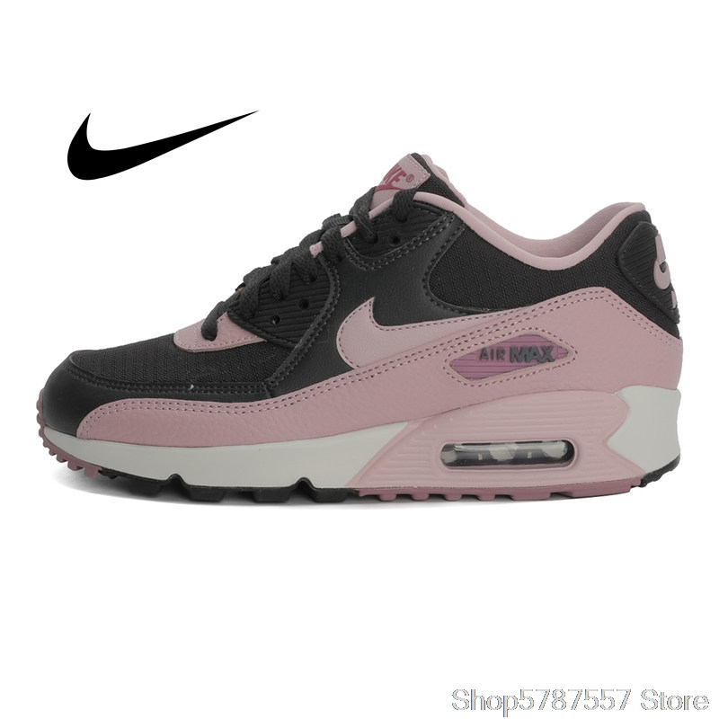 Ultra NIKE WMNS AIR MAX 90 Women's Running Shoes Sneakers Breathable Cushioning Nike Shoes Women Outdoor Walking 325213
