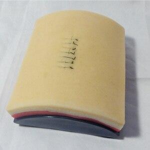 Image 1 - Modelo de Treinamento de Sutura Da Pele Humana simulada/Sutura Prática Mat/Fechamento Da Ferida Pad Habilidade Sutura Formação Módulo