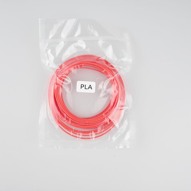 Weiyu Plastic Printer Filament for 3d Pen 5 Meter PLA 3D Printer Filament Printing Materials Extruder Accessories Parts