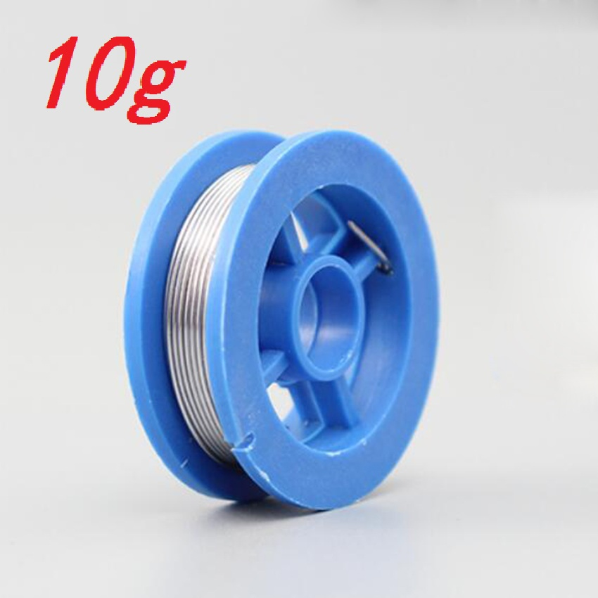 Nieuwe 100G 0.6/0.8/1/1.2 63/37 Flux 2.0% 45FT Tin Tin Lead Wire Melt Rosin Core Soldeer Soldeer Wire Roll No-Clean 6