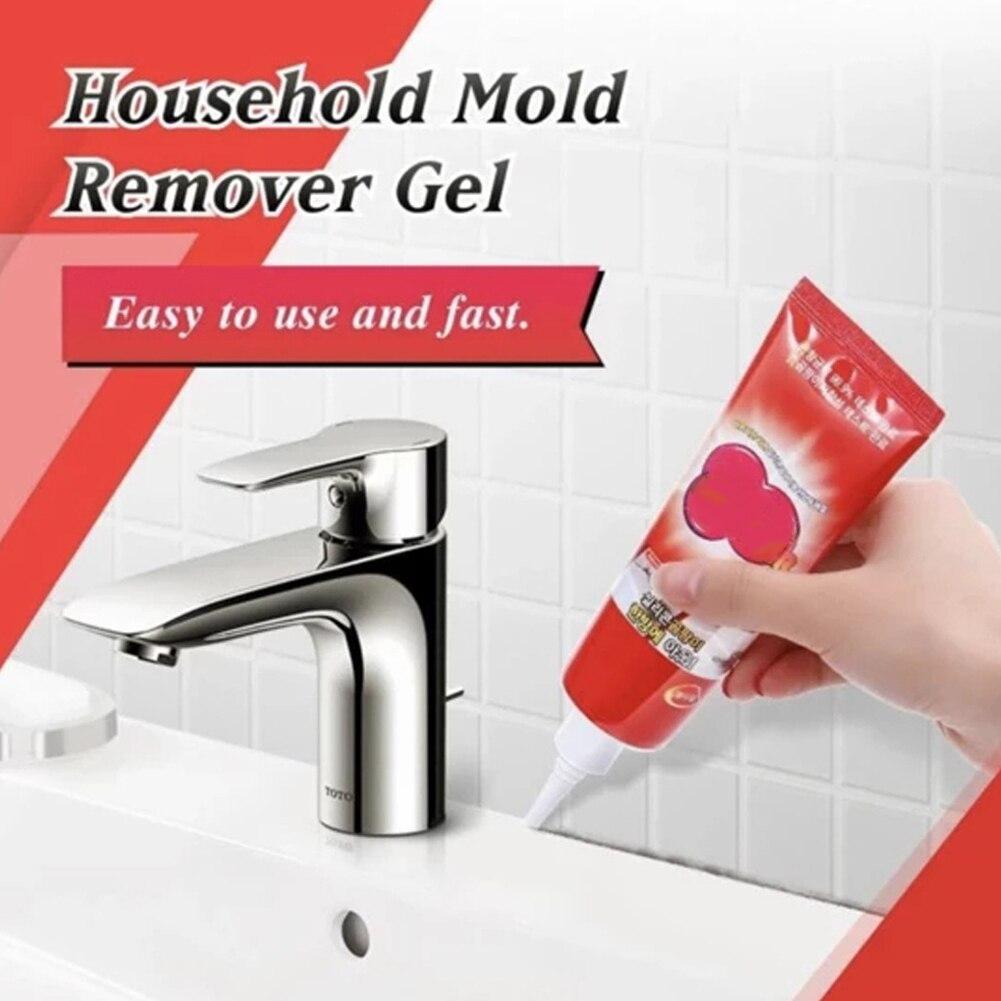 Wall Surface Multifunctional Mold Remover Gel Toilet Portable Bathroom Anti Odor Indoor Floor Caulk Household Mildew Cleaner