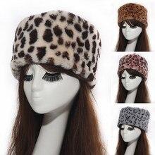 Kobiety kapelusze pani rosyjski gruby puszysty imitacja futra lisa opaska z kapeluszem zima Earwarmer kask narciarski kobiet kapelusze na jesień zima