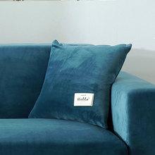 Velvet Cushion Cover Pillowcase Solid Color Decor Sofa Throw Pillows Decorative Wholesale 45*45cm 9colors