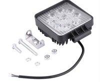 Direct Selling 27W Engineering Lamp Thin LED Working Light Spotlights Spotlight Light for Off road Car Truck Light