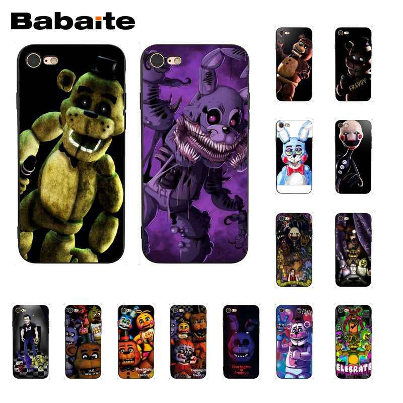 Babaite חמישה לילות פרדי של fnaf פרדי טלפון מקרה עבור iphone 11 פרו 11Pro מקסימום X XS מקסימום 6 6S 7 7 בתוספת 8 8 בתוספת 5 5S XR