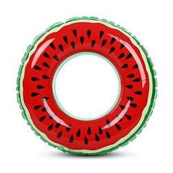 2020 nowy arbuz nadmuchiwane dorosłych dzieci nadmuchiwane koło basen dmuchany koło do pływania dla dorosłych dzieci Hot w Zewnętrzne jacuzzi od Dom i ogród na