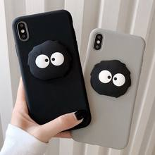 Soft Cover Case For iPhone 7 Plus 8 6 6S 3D Briquettes Cartoon Funda Case For iPhone 11 Pro Max X XS Max XR(China)
