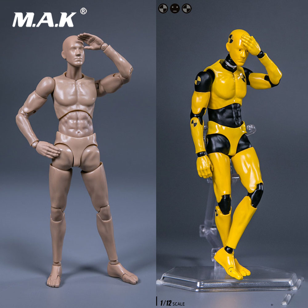 DAMTOYS DPS01/DPS02 1/12 Scale Male Figure Testman Crash Test Dummy 6