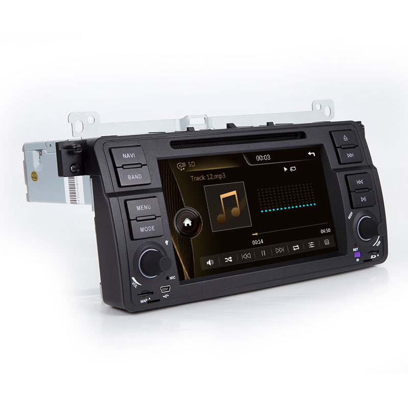 Xonrich1 Din Auto Radio Gps di Navigazione per Bmw E46 M3 Rover 75 Coupe 318/320/325/330 dvd Lettore Multimediale Unità di Testa Stereo Audio - 3