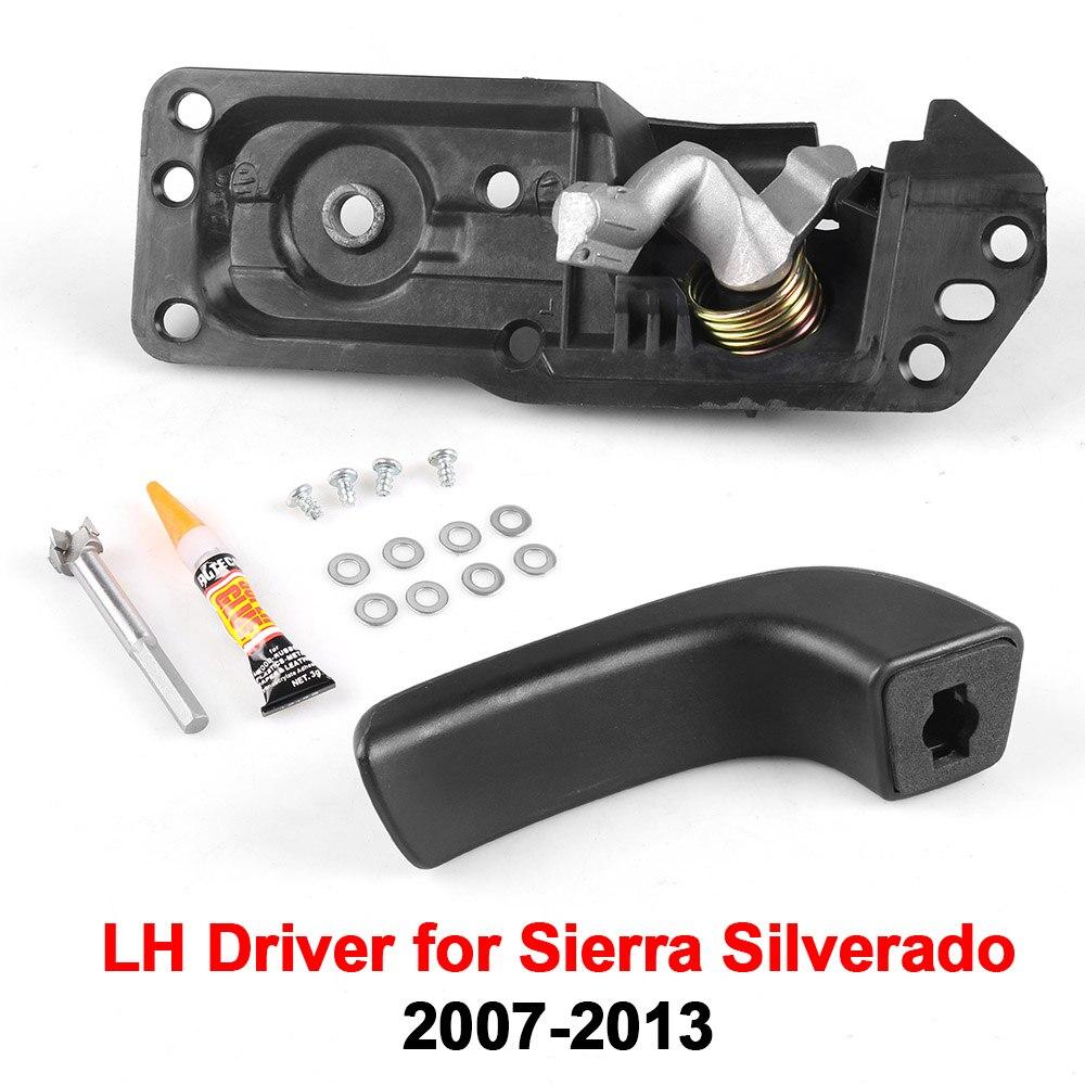 Door Handle Repair Kit Interior Inside LH Driver for 07-13 Sierra Silverado New