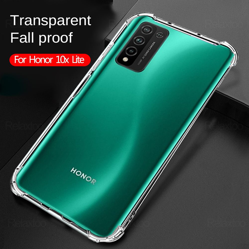 Coque téléphone Honor 10x lait housse huawei honour 10 x lite Airbag housse seul pare-chocs honor10lite étui honour 10xlite étui x10lite coque anti choc honor 10lite housses honor10 lite etui