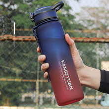 Тритан портативные бутылки для воды спортивная бутылка прикрепляющийся к герметичной большой Ёмкость Фитнес пластиковые бутылки с водой, ...