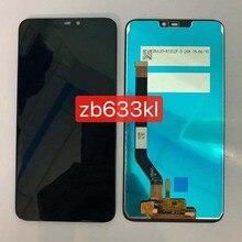 """Geen Dode Pixel 6.26 """"Voor Asus Zenfone Max M2 ZB633KL/ZB632KL X01AD Lcd Touch Panel Glazen Scherm digitizer Vergadering"""