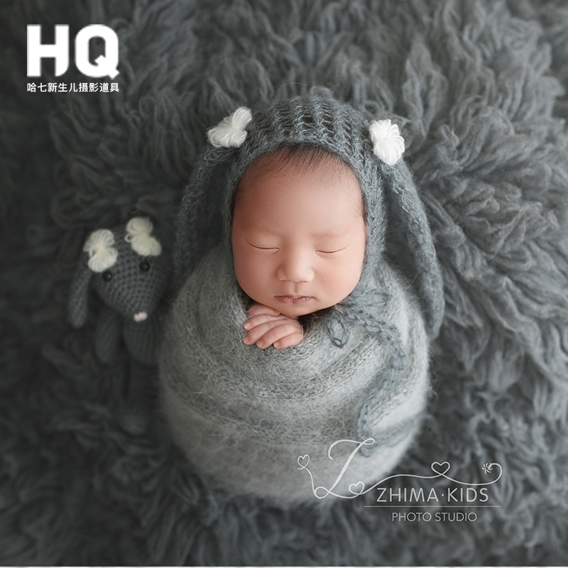 Newborn Photography Props Hat And Toys Baby Photography Hat Infant  Photo Studio  Accessories Children Hat