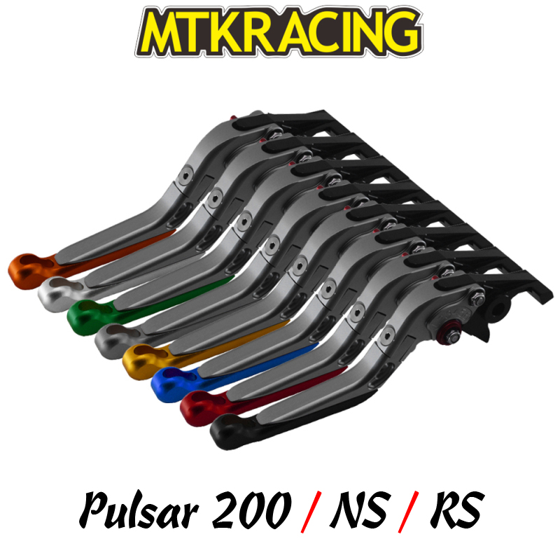 MTKRACING For <font><b>Bajaj</b></font> <font><b>Pulsar</b></font> <font><b>200</b></font> / <font><b>Pulsar</b></font> <font><b>200</b></font> <font><b>NS</b></font> / <font><b>Pulsar</b></font> <font><b>200</b></font> RS CNC motorcycle clutch brake lever image