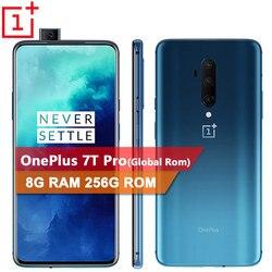 Перейти на Алиэкспресс и купить global rom original oneplus 7t pro smartphone snapdragon 855 plus 6.67'' fluid amoled 90hz screen 48mp camera battery ufs 3.0