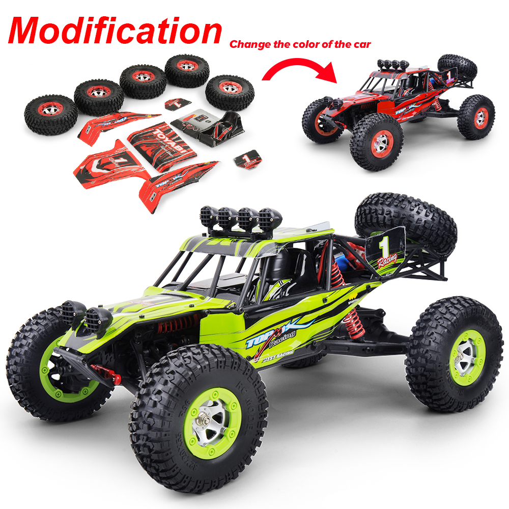 RC Car 4WD 1/12 2.4G 48KM/H High Speed Monster Truck Remote Control Car RC Buggy Off-Road Updated Version VS A959-B