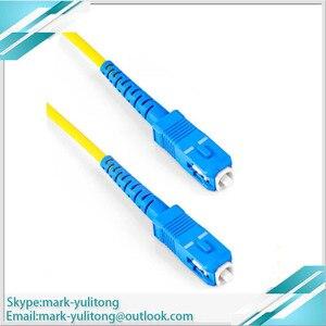 Image 4 - 3 м 5 м 10 м FTTH SC APC Волоконно оптический соединительный кабель SC / APC SC / APC или SC /UPC SC / UPC Волоконно оптический соединительный шнур SC UPC APC