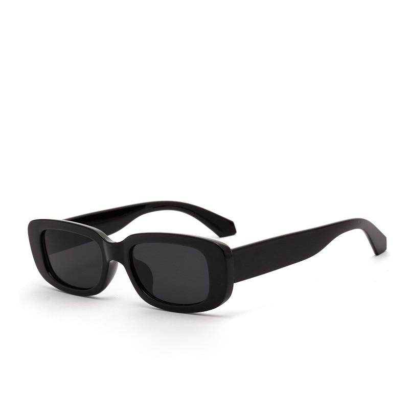 Vintage Sunglasses Eyewears Uv400-Lens Rectangle Retro Female Designer New-Fashion Women Brand