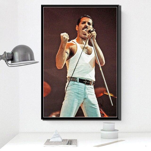 Freddie Mercury Wembley Poster 10