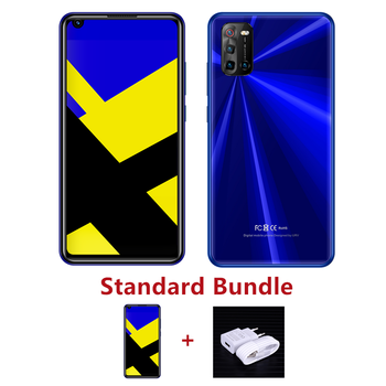 """4G LTE Note 9 Pro 4G RAM+64G ROM 13MP Front/Back Camera Face ID Android Global Smartphones 6.72"""" Mobile Phones Celuares Unlocked - 4G RAM 64G ROM, 6.72blue standard"""