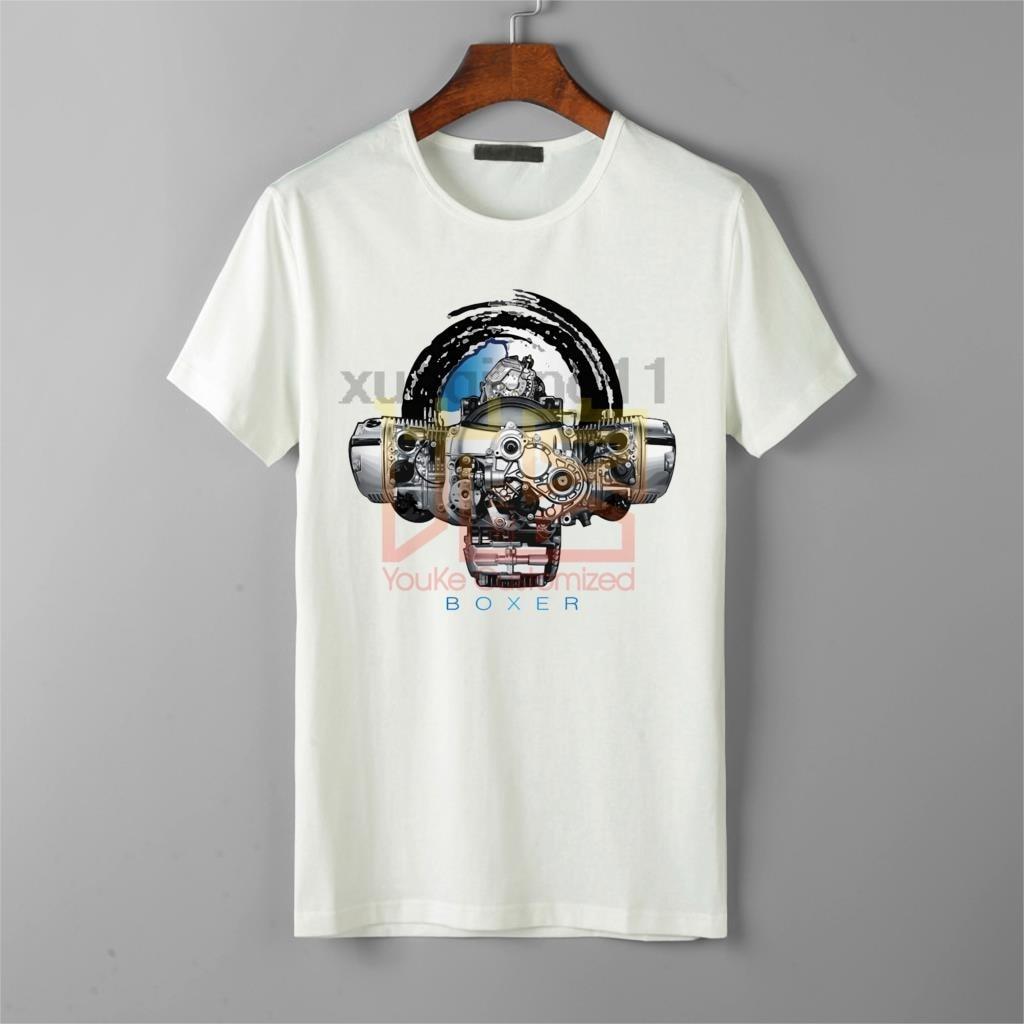 Men's T-Shirt Boxer Heart Engine BMW R 1200 GS RT R 1150 Gs  Fine Art